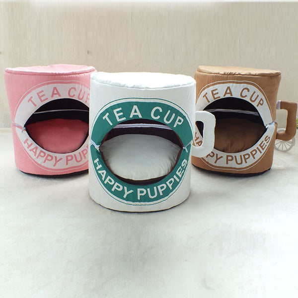 Tea Cup Pet Bed