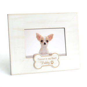 Personalized Memorial Wood Photo Frame - YourStarPet