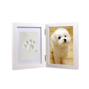 Photo Frame With Keepsake Paw Print - YourStarPet