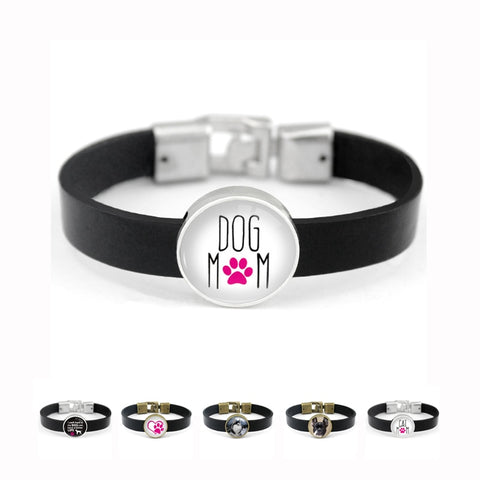 Pet Lover Unisex Bracelet With Glass Charm (11) Styles