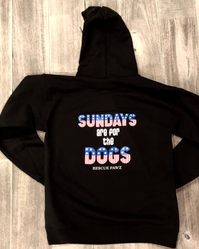 Sunday's are for the Dogs Pullover Hoodie