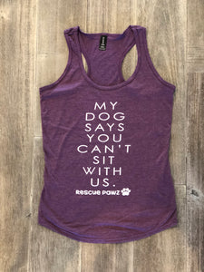Can't sit with us Women's Tank Top