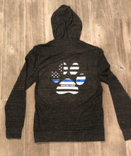 Thin Blue Line Zip Up Hoodie