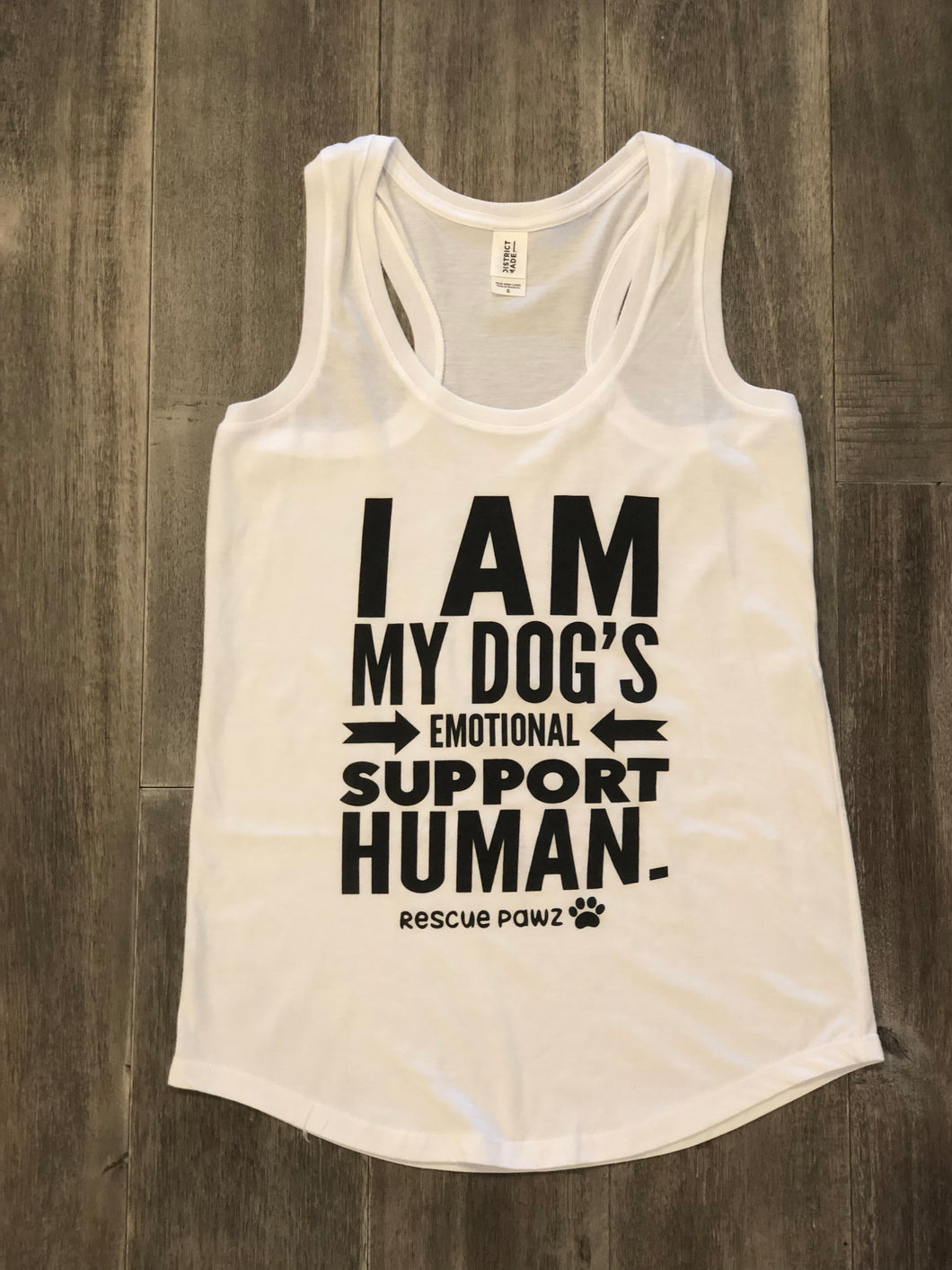 Emotional Support Human Women's Tank Top