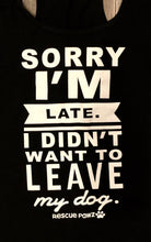 NEW- Sorry I'm Late Woman's Tank Top