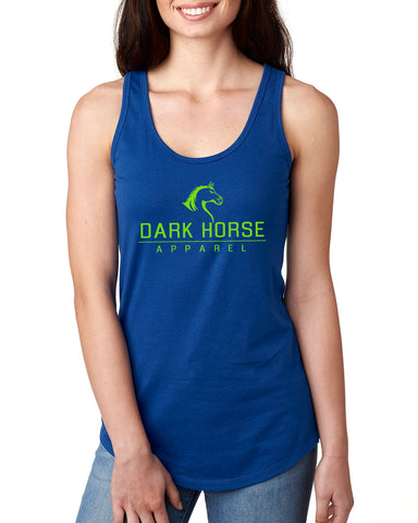 Women's Racerback Tank - Royal