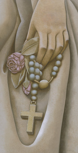 "173 • ""The Rosary: Let Our Faith Be Your Strength"" Fine Art Poster"