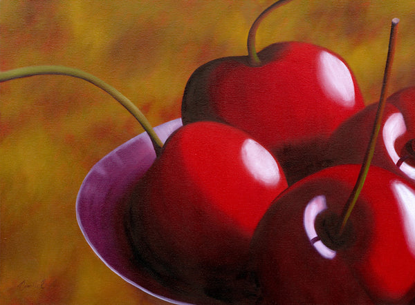 "109  • ""Cherries Jubilee /4"" Fine Art Canvas"