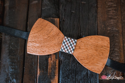 unique bow ties, custom bow ties, wooden bow tie