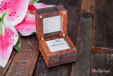wooden ring box, engagement ring box, wedding ring box, custom engraved ring box, personalized ring box