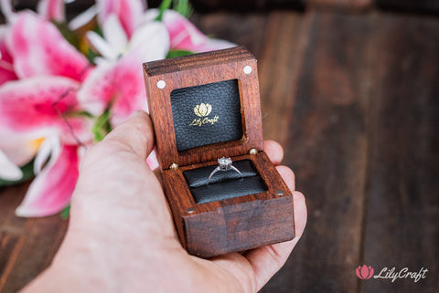 ring box, engagement ring box, wedding ring box