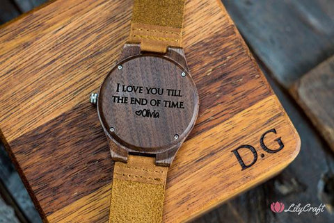 engraved watch,  best wooden watches, mens wooden watch,  mens watch box,  leather watches for men,  Best Christmas gift ideas 2020,  Best gifts for men 2020,  Christmas gift ideas for dad 2020