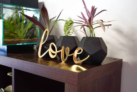 love sign, house signs, home decor online, living room decor, home decor, house decoration