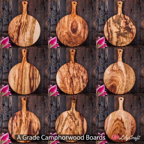 Engraved Cheese Boards A Grade LilyCraft