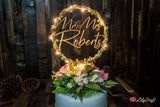 LED Light up Wedding Cake Topper