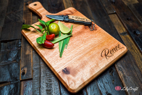 australian karri wood cutting board