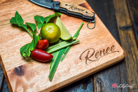 personalised cutting board