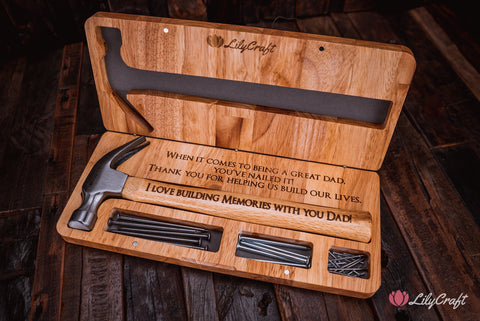 most popular fathers day gifts personalized hammer