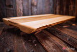 Live Edge Engraved Serving Board. Natural edge cheese board. Custom Engraved Wedding cutting board