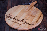 Personalised Cheese Board.