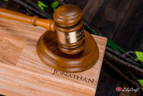 personalized gavel