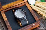 Mens Wooden Watch with Gift Box