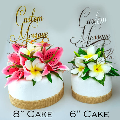 Most Beautiful Cursive Cake Topper. Custom Laser Cut Wedding Cake Topper. Mr & Mrs Cake Topper. Personalised Cake Topper. Cake Sign.