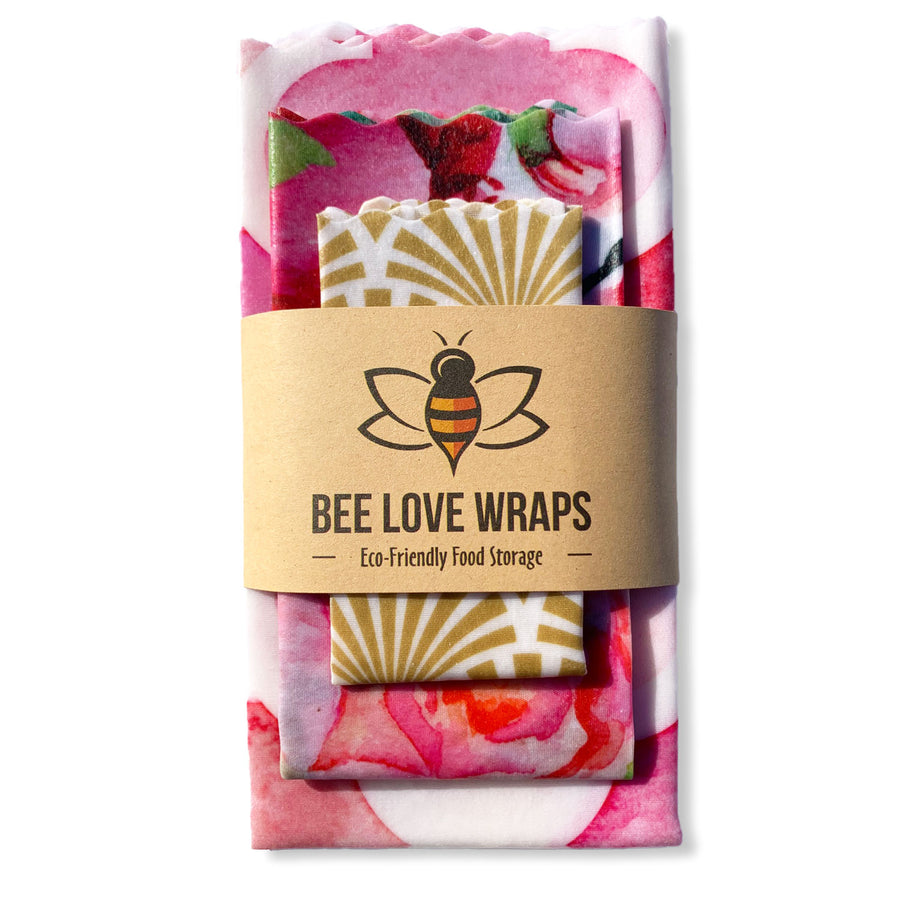 Beeswax Wrap Handy Plus Bread Pack - 4 Wraps