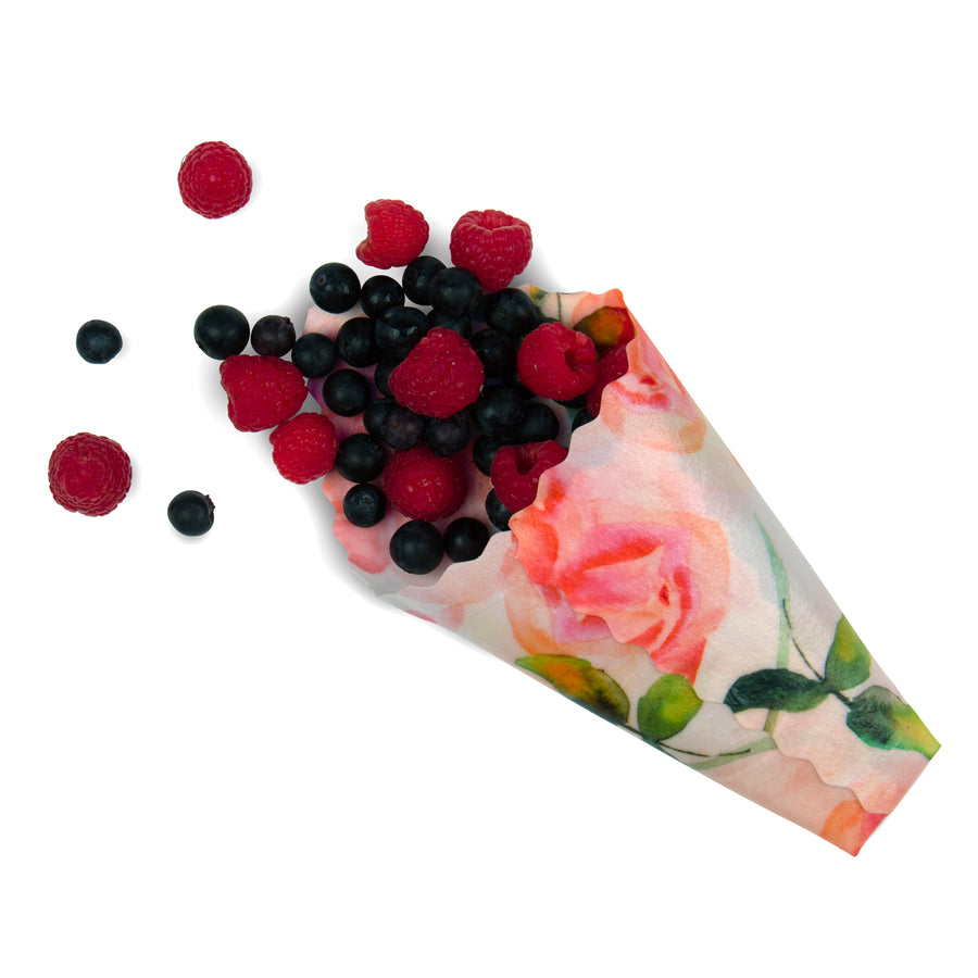 beeswax wrap berries small