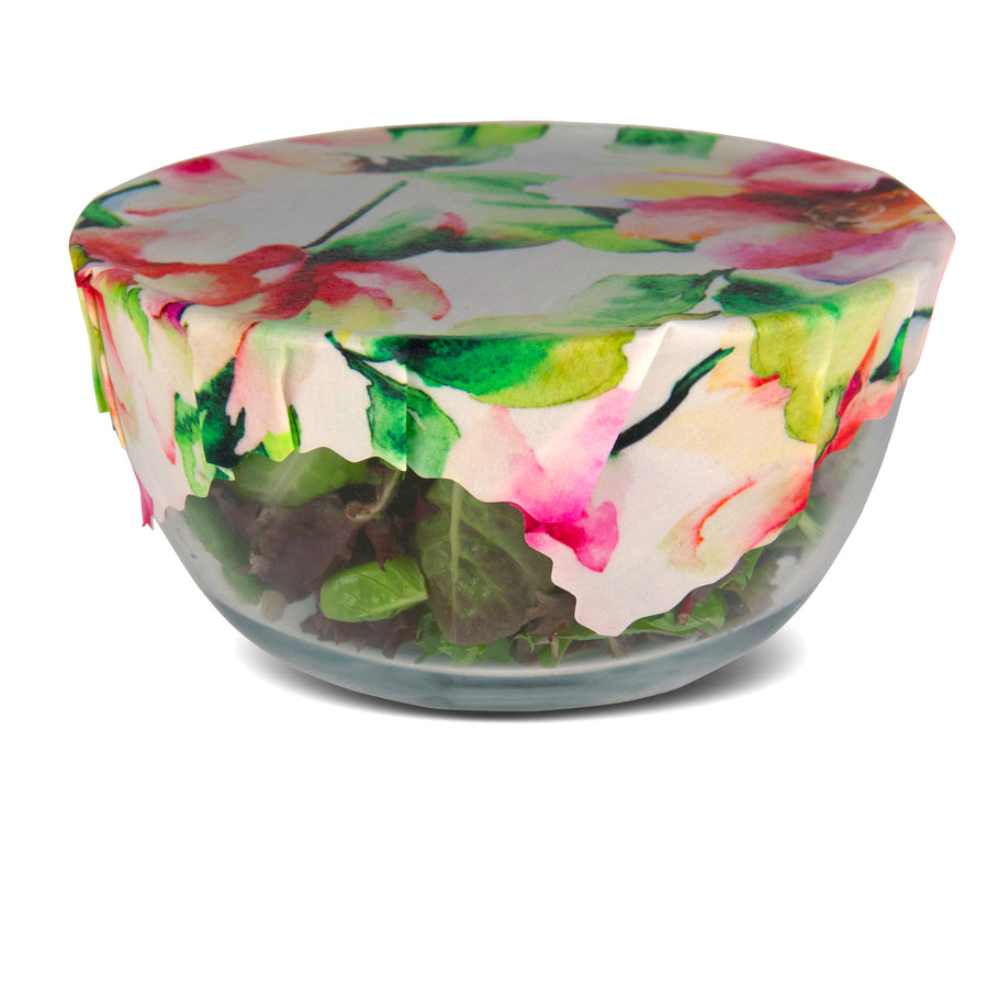 beeswax wrap salad bowl