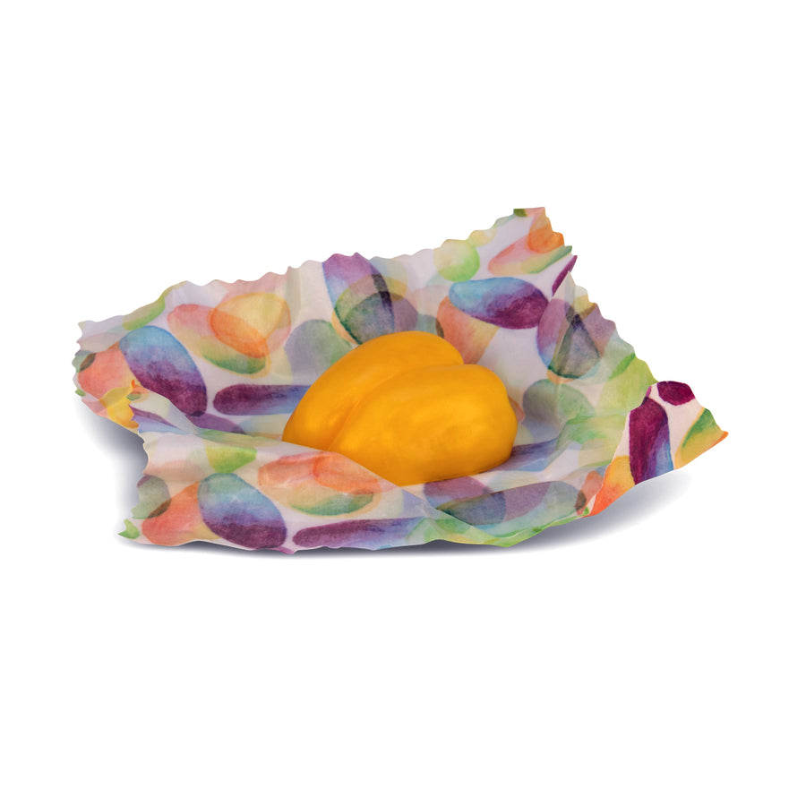 beeswax wrap medium capsicum 2