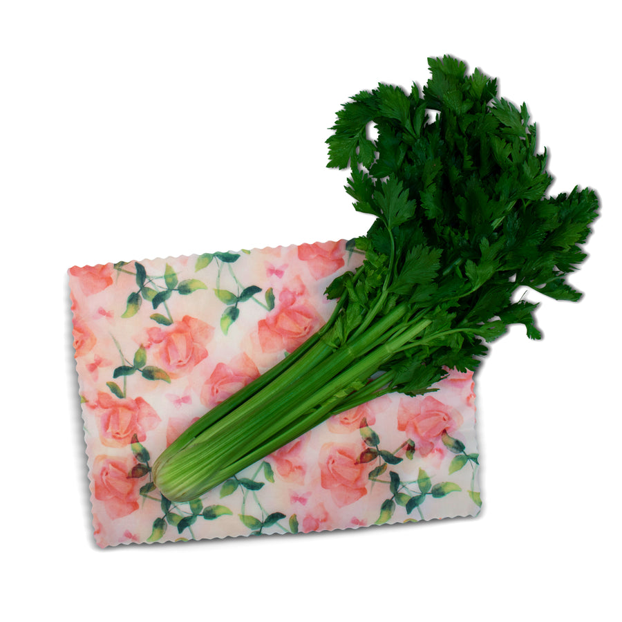 beeswax wrap extra large celery
