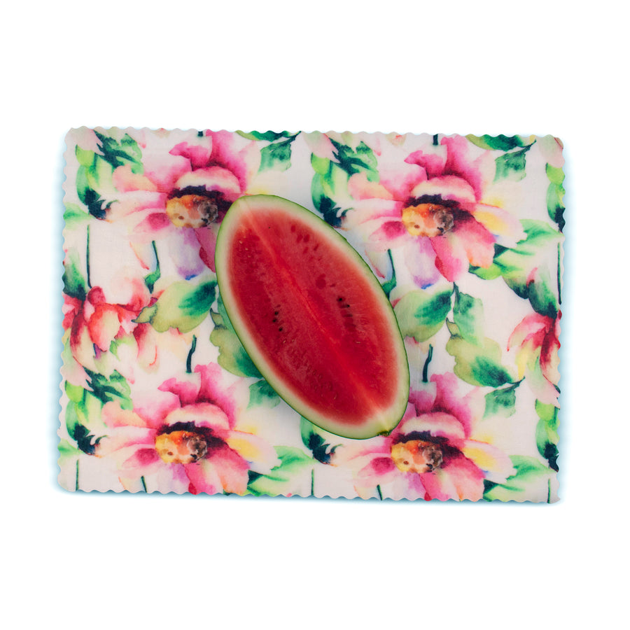 beeswax wrap watermelon extra large