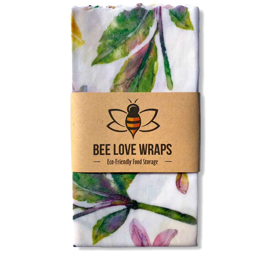 beeswax wrap sandwich pack lemons green