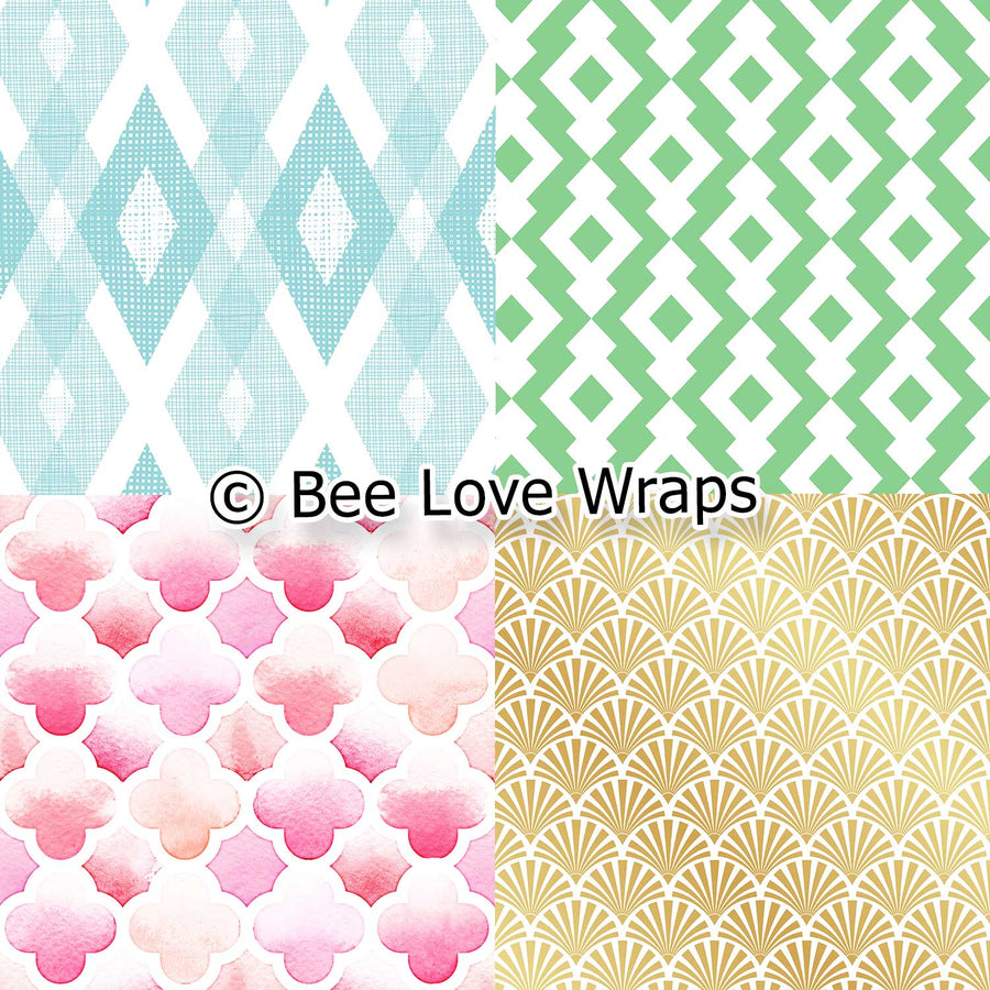 beeswax wrap simple design