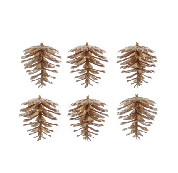 Small Artificial Gold Pinecone 5cm