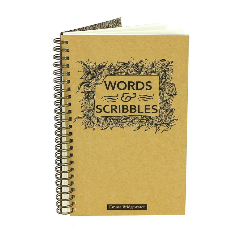 Emma Bridgewater Words & Scribbles Notebook