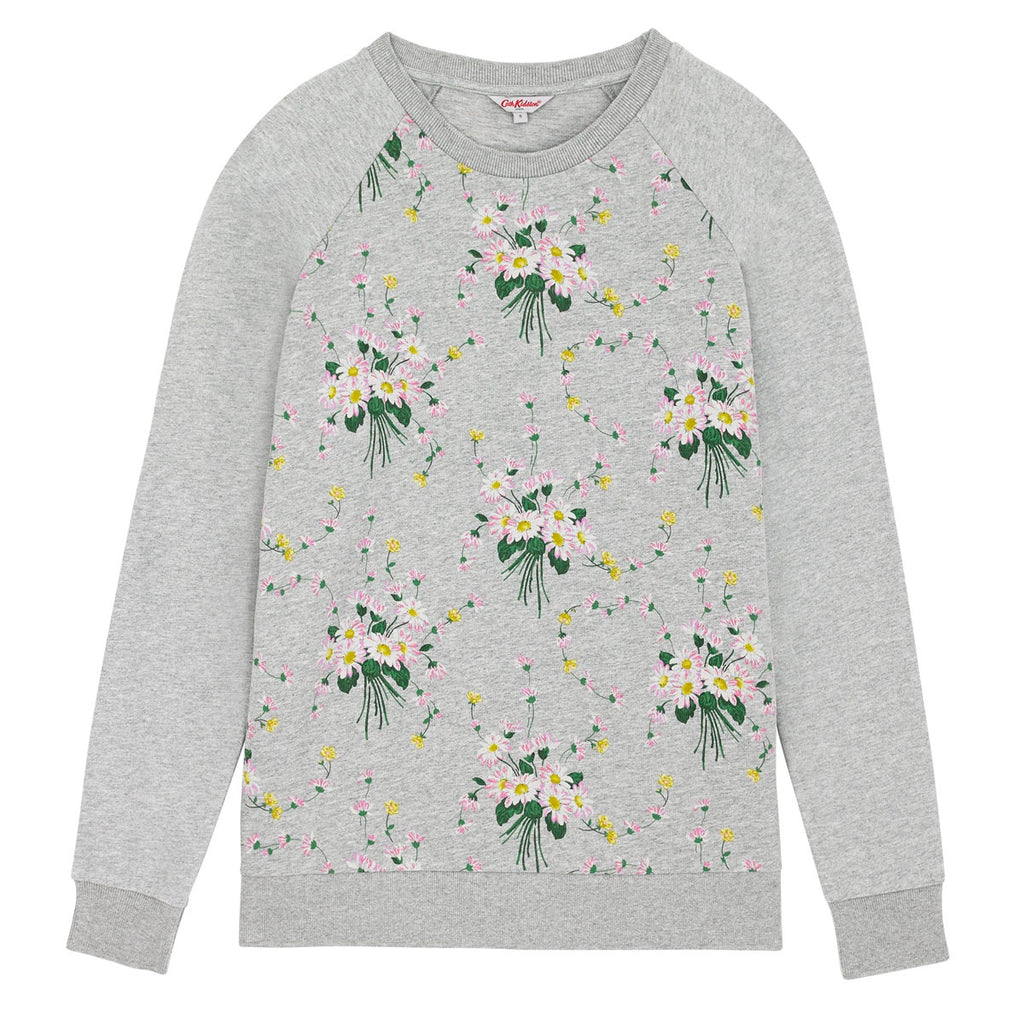 Cath Kidston Daisies And Buttercups Cotton Jersey Sweat