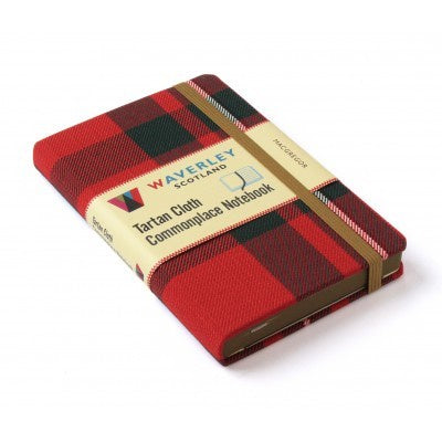 Macgregor Tartan Cloth Commonplace Notebook