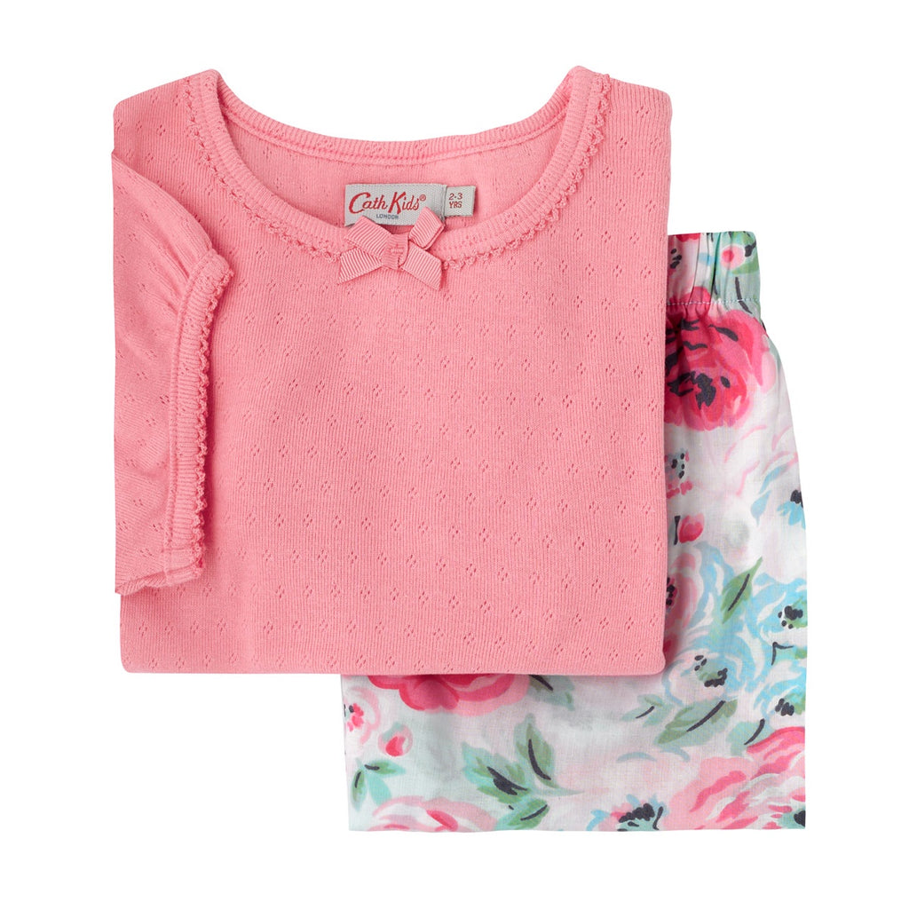 Cath Kidston Worth Bunch Kids Pointelle PJ Set