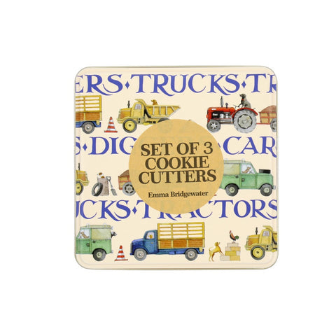 Emma Bridgewater Men at Work Cookie Cutter Set