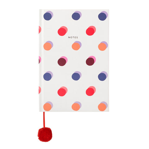 Cath Kidston Spots A5 Hard Cover Notebook