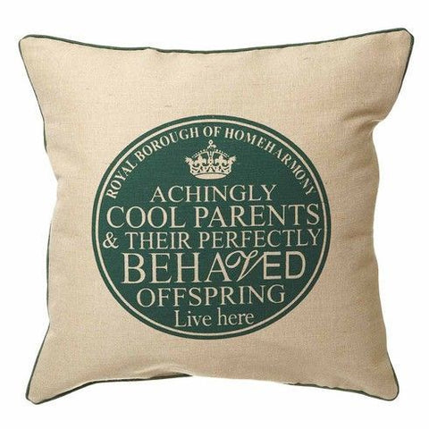 Samantha Morris Printed Parents Cushion