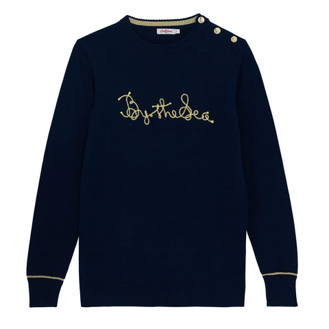 Cath Kidston Embroidery By The Sea Sweater