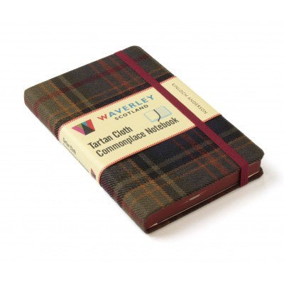 Kinloch Anderson Tartan Cloth Commonplace Notebook