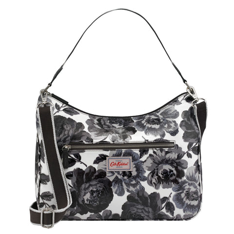 Cath Kidston Curve Shoulder Bag Peony Blossom