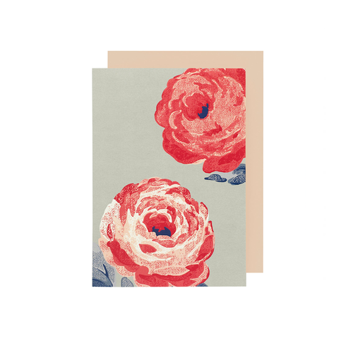 Cath Kidston Card Beaumont Rose