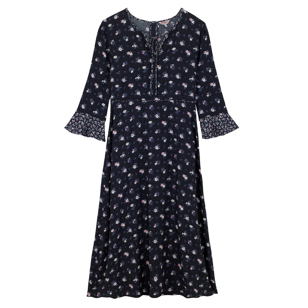 Cath Kidston Henley Ditsy Crepe Dress