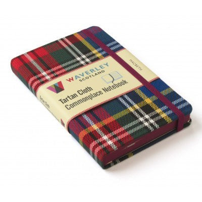 Macbeth Tartan Cloth Commonplace Notebook