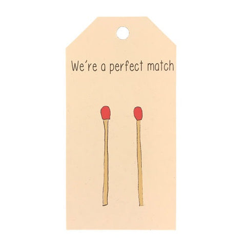 Gift Tag - Perfect Match